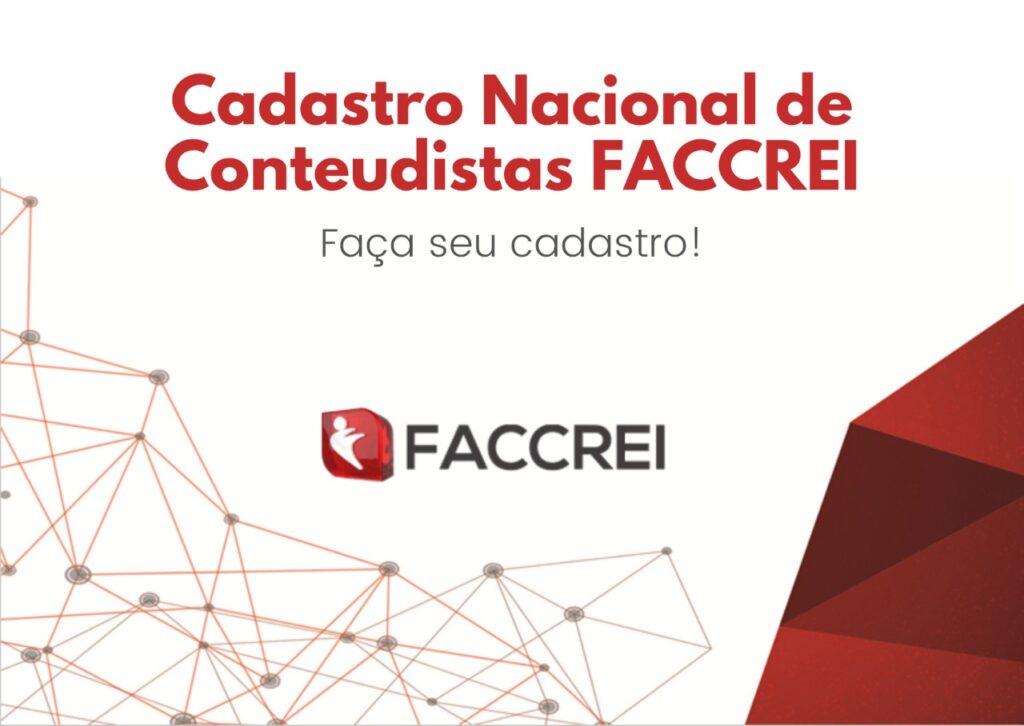 Cadastro Nacional de Conteudistas Faccrei